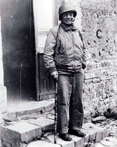 """in Normandy after personally leading the first wave of men to shore on Utah beach, the only allied general to do so, 1944 [[MORE]] """"Roosevelt was one of the first soldiers, along with Captain Leonard T. Theodore Roosevelt Jr, Roosevelt Family, Milwaukee, 4th Infantry Division, Normandy Beach, Man Of War, One Wave, American Presidents, World History"""
