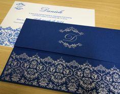 convite 15 anos envelope azul - Pesquisa Google