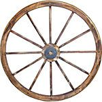Red Shed™ Wooden Wagon Wheel, 34-3/4 in.