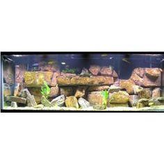 Grand Canyon Extra Large 30 Gallon Natural Aquarium Cave Rock Aquascape Kit