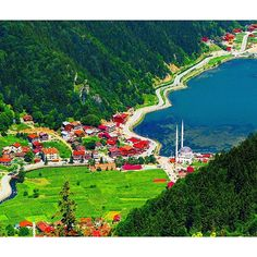 Uzungöl (Long Lake), Çaykara, Trabzon ... Eastern Blacksea Region of Turkey...