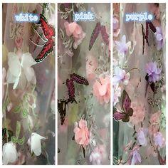 5 Jardas/Lote Borboleta Organza Impressão 3D Bordado Africano Material de Tecido Chiffon Flor Do Laço Costurar As Mulheres Se Vestem Roupas 135 CM de Largura em Tecido de Home & Garden no AliExpress.com | Alibaba Group