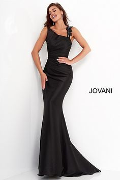 2021 Evening Dresses & Gowns - Same Day Shipping | Jovani - Page 2 Navy Evening Dresses, Evening Dresses With Sleeves, Long Sleeve Evening Dresses, Evening Dresses For Weddings, Black Wedding Dresses, Dress Makeover, Formal Wedding Attire, Black Formal Gown, Black Tie Attire