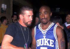 Tupac with Stephen Baldwin