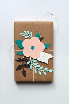 Kreative Idee, die die #Geschenkverpackung mindestens so schön erscheinen lässt wie das #Geschek.