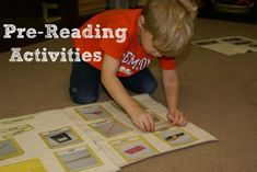 Montessori Pre-Reading Activities with free download