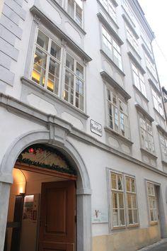 Mozart House... Vienna...