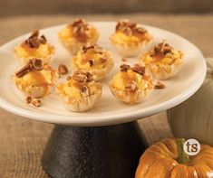 The taste of caramel and pumpkin together are the perfect Thanksgiving pair!