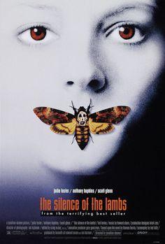 'The silent of the lambs' (1991) / 'El silencio de los corderos' (1991), con Jodie Foster y Anthony Hopkins como actores principales.