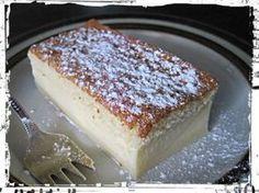 Tämä kakku on taikaa, koska uunin menee yksi kakkutaikina mutta uunista tullessaan on kakussa kolme erillistä kerrosta Baking Recipes, Cake Recipes, Finnish Recipes, Norwegian Food, Piece Of Cakes, Desert Recipes, No Bake Cake, Baked Goods, Sweet Recipes
