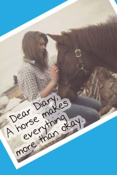 My horse makes everything better