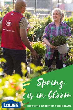 Create the garden of your dreams! Visit Lowe's today. #Spring #Flowers