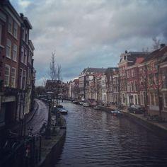 Memories from last weekend's Lazy Sunday walk #inspireconf @ Oude Rijn, Leiden