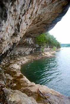 Beaver Lake Cliff by Eric Studer on Capture Arkansas // Up Around the Bend