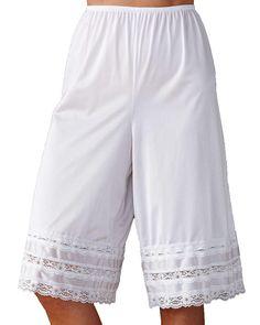 Stile Vintage a UVA Nylon Pantie Slip pettipants culotte Bloomers 16 ~ 18