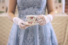 An Afternoon Tea Bridal Shower | CatchMyParty.com