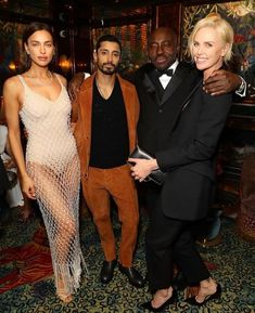 Inside The Vogue X Tiffany Fashion And Film Party 2020 Marc Quinn, Camille Charriere, Kristin Scott Thomas, Lily Cole, Jourdan Dunn, Irina Shayk, Charlize Theron, Vogue Fashion, Red Carpet Dresses