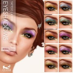https://flic.kr/p/wTZX9h | Oceane -  Fat Pack Pippi Eyeshadows | Second Life Marketplace: marketplace.secondlife.com/stores/7401  www.oceanebodydesign.com/   Inworld Store: maps.secondlife.com/secondlife/Oceanside%20dAlliez/194/21...