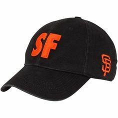 Nike San Francisco Giants Alpha Flex Hat - Black