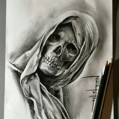 Real Skull …- Real Skull … Real Skull More - – skull tattoo sleeve Skull Tattoo Design, Skull Design, Skull Tattoos, Body Art Tattoos, Sleeve Tattoos, Tattoo Designs, Tattoo Sketches, Tattoo Drawings, Tattoo Crane