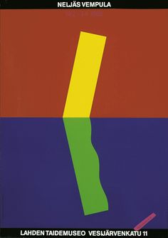 Tapani Aartomaa — The Fourth Vempula, exhibition poster, Lahti Poster Museum (1988)