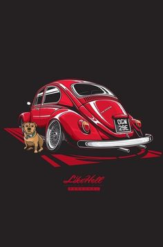 15 ideas for cars poster vector Retro Cars, Vintage Cars, Vw Bus, Car Illustration, Illustrations, Car Posters, Car Drawings, Automotive Art, Car Wallpapers