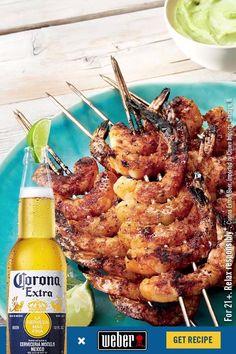 Shrimp Dishes, Fish Dishes, Shrimp Recipes, Salmon Recipes, Fish Recipes, Meat Recipes, Mexican Food Recipes, Chicken Recipes, Recipies