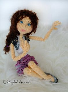 Crochet pattern Marionette -(paid pattern) - inspiration