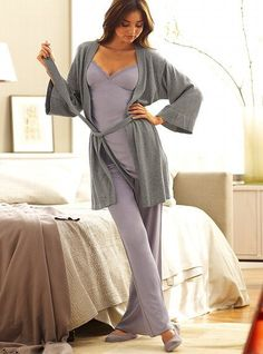 Victoria's Secret Sweater Robe  Victoria's Secret  $44.50
