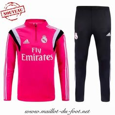 la boutique officiel Nouveau Survetement de foot Real Madrid Rose 2015 2016 shopping