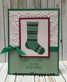 Stampin Up Seasonal Decorative Masks Endearing Hang Your Stocking Stamp Set Christmas Stockings Thinlits And 2018