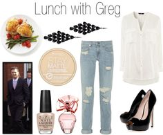 """Lunch with Greg"" by onedirectionperfectdates ❤ liked on Polyvore"