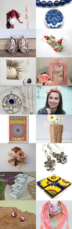 Spring and flowers by Maria Tenorio on Etsy--Pinned with TreasuryPin.com