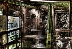 A photo of the Seattle Underground taken by my friend and colleague Michael Noirot