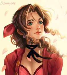 On my Patreon, Aerith (fanart) comes with: Full size drawing. Step by step (9 high res) Sketch and Lineart. www.patreon.com/nummyumy Full size of all my da...
