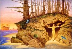 Dragons dawn - Paintings by Michael Whelan  <3 <3
