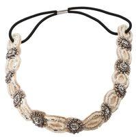 Fascia per capelli - Creme Pearls