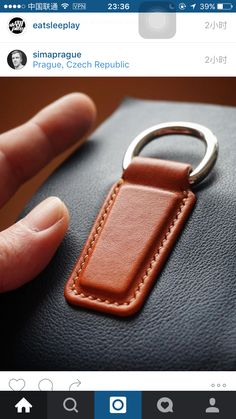 Sewing Leather, Leather Pattern, Leather Craft, Leather Keychain, Leather Wallet, Leather Tooling, Leather Purses, Leather Workshop, Purse Strap