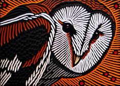 barn owl by Lisa Brawn, via Flickr