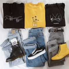 Source by Fashion outfits Cute Casual Outfits, Edgy Outfits, Fall Outfits, Summer Outfits, Artsy Outfits, Soft Grunge Outfits, Pastel Grunge, Hipster Outfits, Grunge Style
