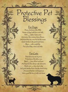 Protective Pet Blessings for Homemade Halloween Spell Book.You can find Spells witchcraft and more on our website.Protective Pet Blessings for Homemade Halloween Spell Book. Halloween Spell Book, Halloween Spells, Witch Spell Book, Witchcraft Spell Books, Wicca Witchcraft, Magick Spells, Wiccan Protection Spells, Real Spells, Hoodoo Spells