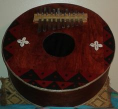 """West African-style bass """"thumb piano"""" (gongoma, Xtra large)     FREE DOMESTIC SHIPPING by PanAfricanArts on Etsy"""