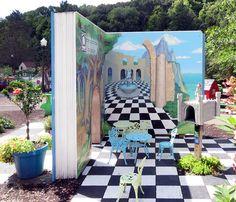 Ross Park, Discovery Center Garden, Binghamton, New York State