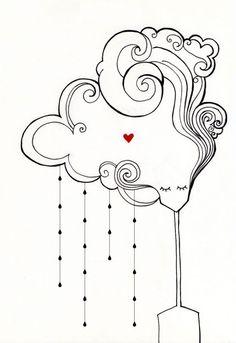 cuoredinkiostro - la testa fra le nuvole