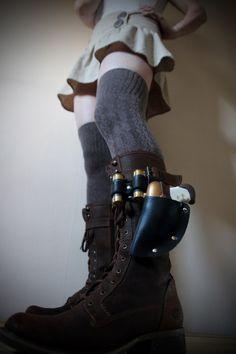 обувь оружие стимпанк кобура