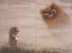 Юрий Норштейн, Сергей Козлов -Ёжик в тумане, иллюстрации Франчески Ярбусовой