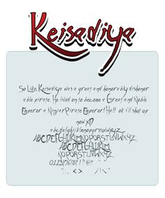 Keisadiya font by shonenpunk alphabet painting drawing resource tool how to tutorial instructions | Create your own roleplaying game material w/ RPG Bard: www.rpgbard.com | Writing inspiration for Dungeons and Dragons DND D&D Pathfinder PFRPG Warhammer 40k Star Wars Shadowrun Call of Cthulhu Lord of the Rings LoTR + d20 fantasy science fiction scifi horror design | Not Trusty Sword art: click artwork for source