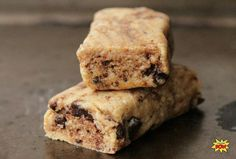 Chocolate Chip Cookie Dough Protein Bars - Bodybuilding.com