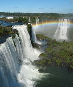 Iguazu Falls - Both sides are amazing!  Definitely do the boat ride to the foot of the Argentina side.  And get a pano view of the falls from Brazil.  make sure you get a visa first!...otherwise Carlos the taxi driver can take you across ;)