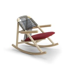 rocking chair Unam de Sebastien Herkner pour very wood